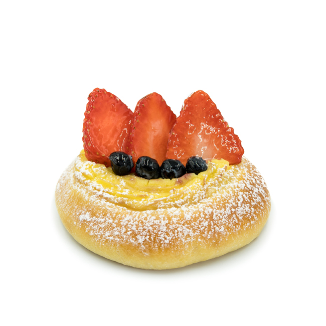 Seasonal Fruit Brioche