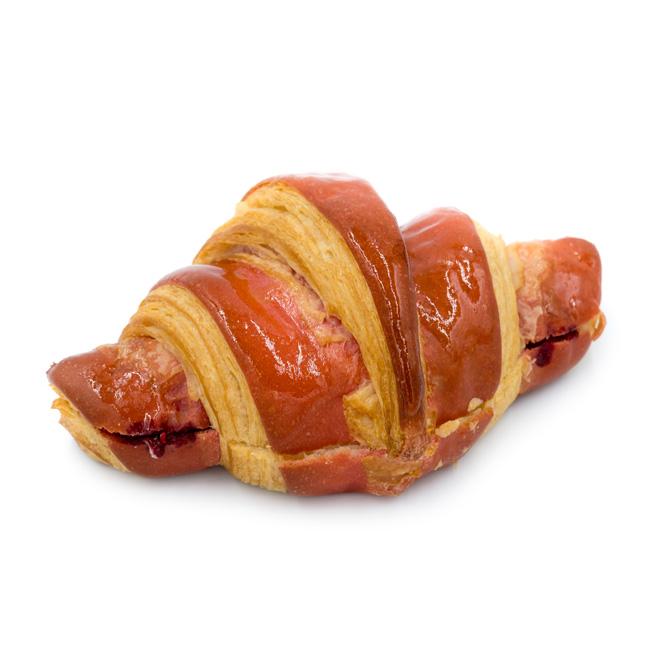 Duotone Raspberry Croissant
